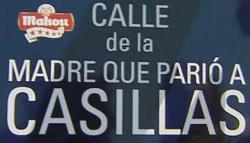 Calle de la madre que parió a Casillas